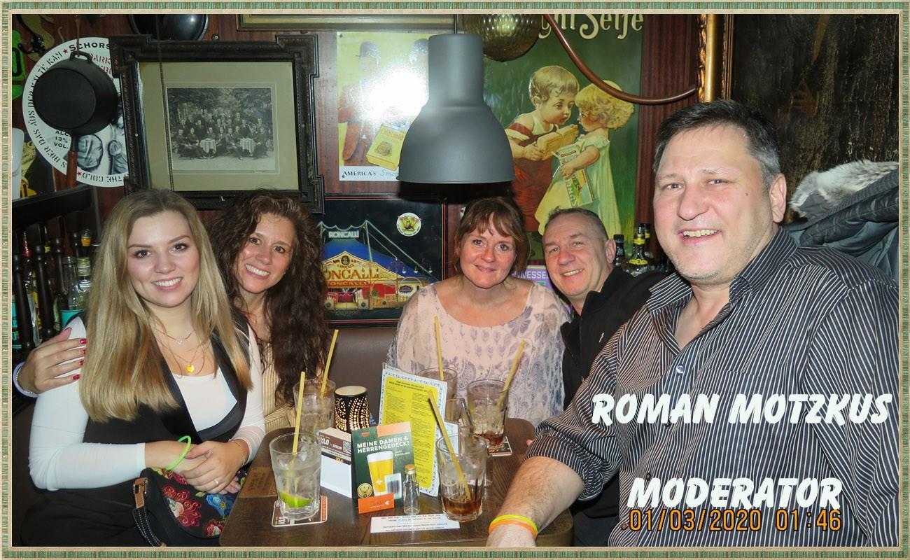 Roman Motzkus Moderator &  Gründungsmitglied der Spandau Bulldogs